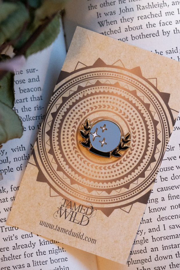Crystal Ball pin by Tamed Wild