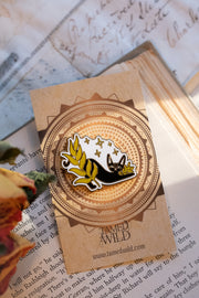 Midnight Gardener Enamel Pin by Tamed Wild