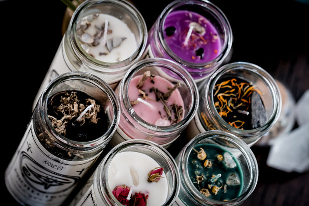 *NEW* Spell Candles (Scented Soy Wax)