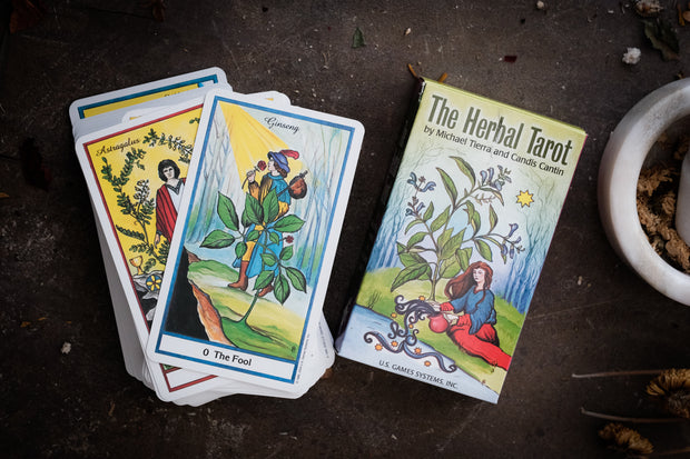 The Herbal Tarot // Michael Tierra