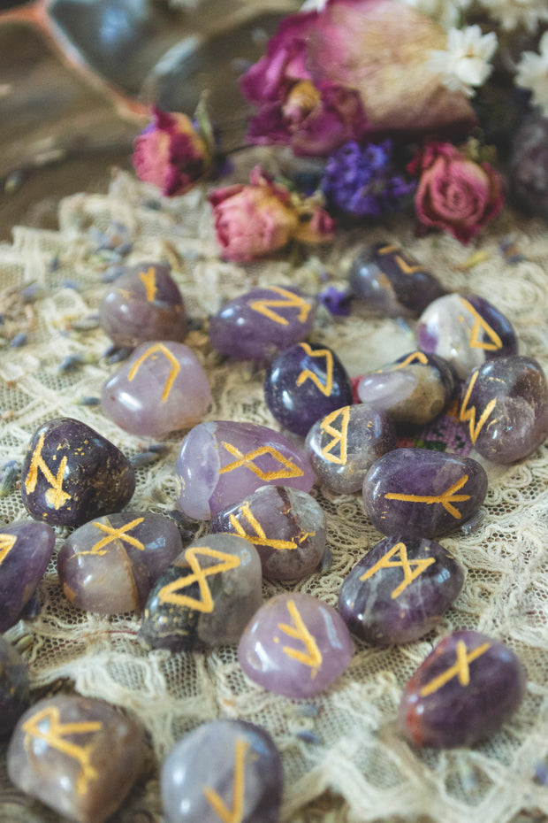 Rune Set ~ Assorted Stone Varieties