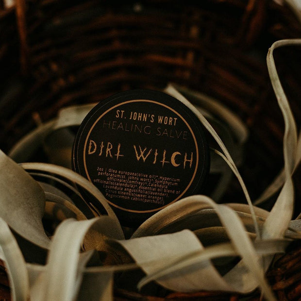 St. John's Wort Healing Salve // Dirt Witch