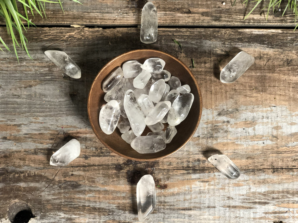 Clear Quartz Point Tumbled
