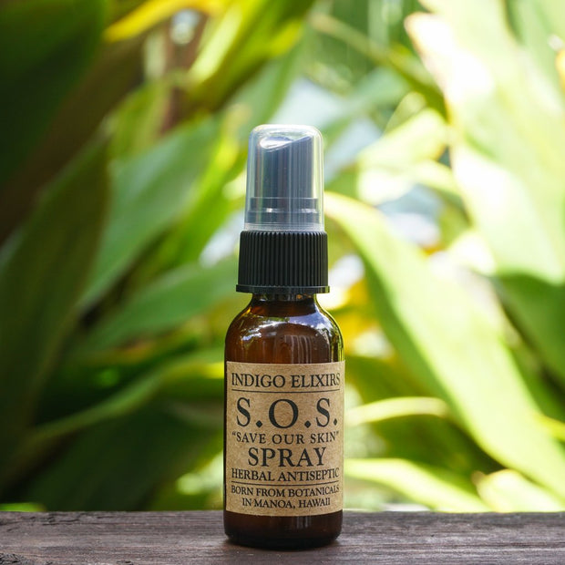 S.O.S. Spray Herbal Antiseptic // Indigo Elixirs