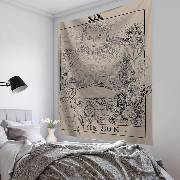 The Sun Tarot Tapestry