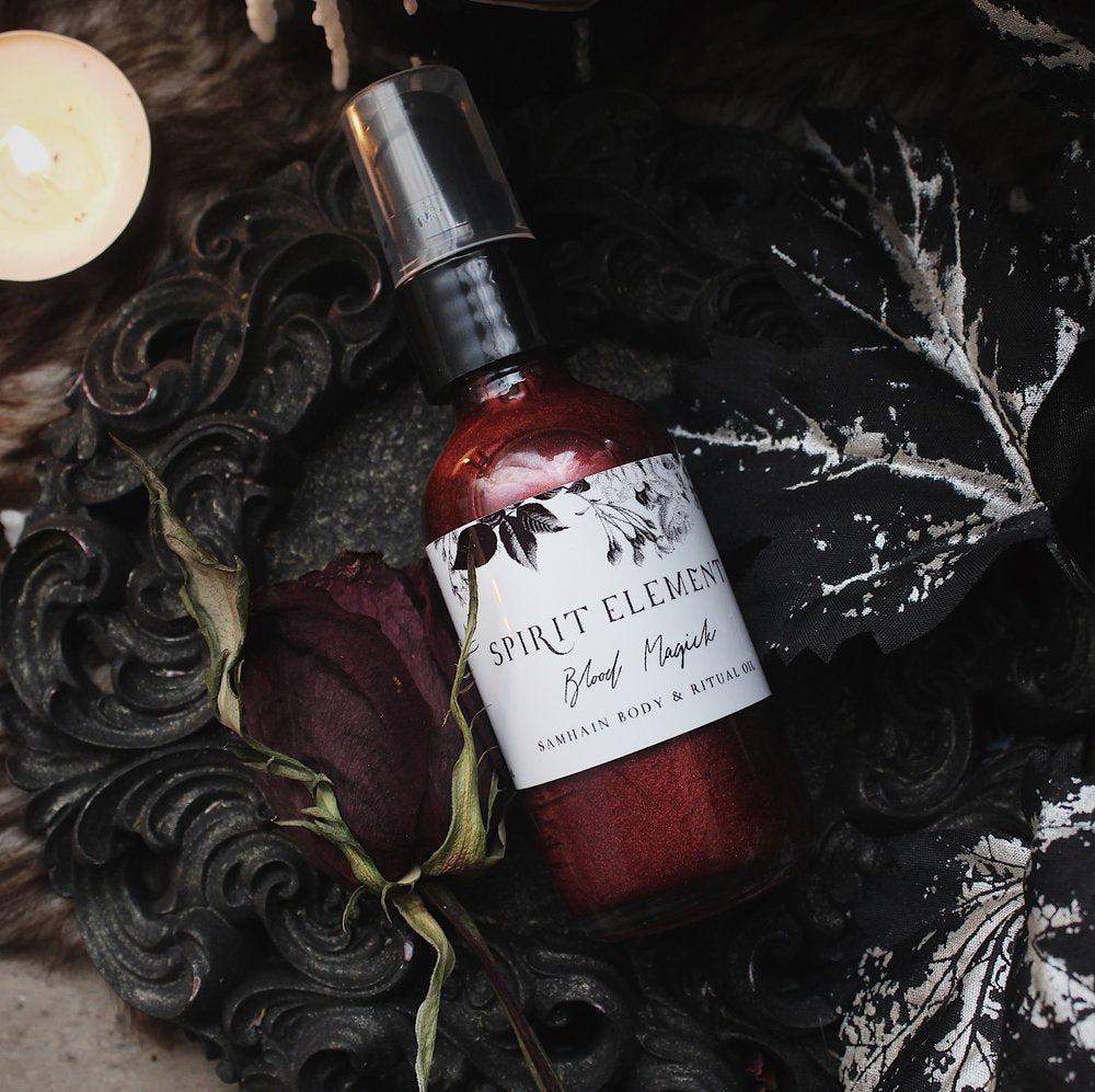 Blood Magic Anointing Oil // Spirit Element