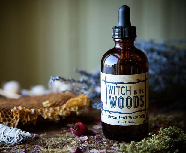 Botanical Body Oil // Witch in the Woods
