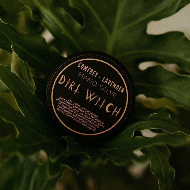 Comfrey & Lavender Salve // Dirt Witch