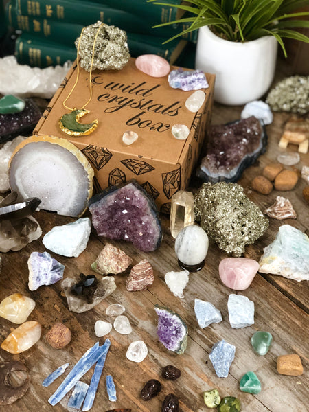 Crystals Surprise Me Box Tamed Wild