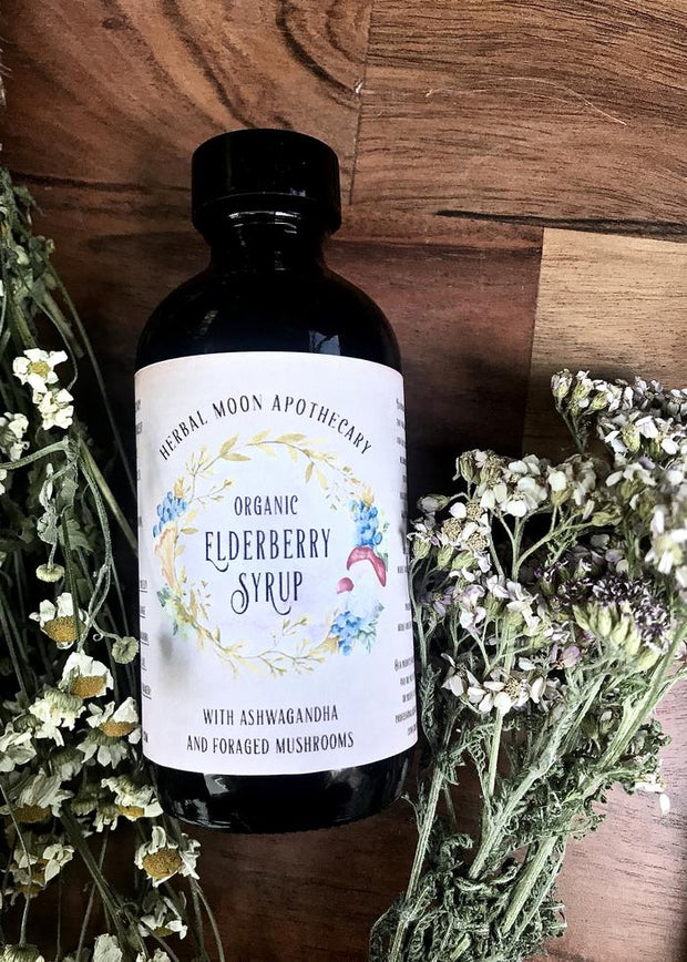 Elderberry Syrup by Herbal Moon Apothecary