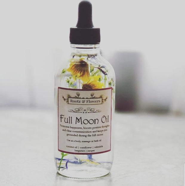 Full Moon Oil // Rootz & Flowers Apothecary