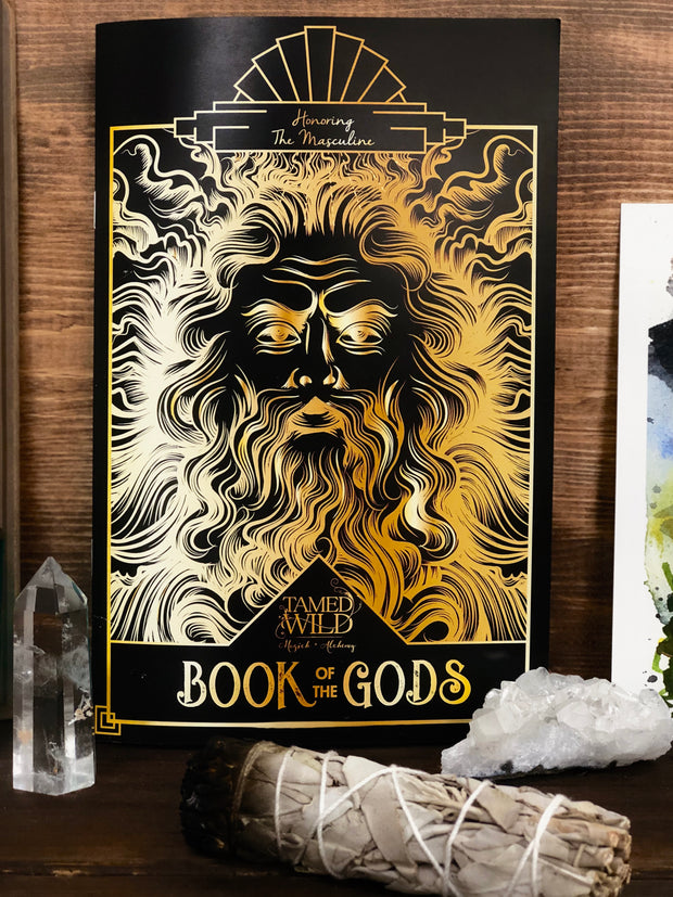 Front cover of the Book of Gods.