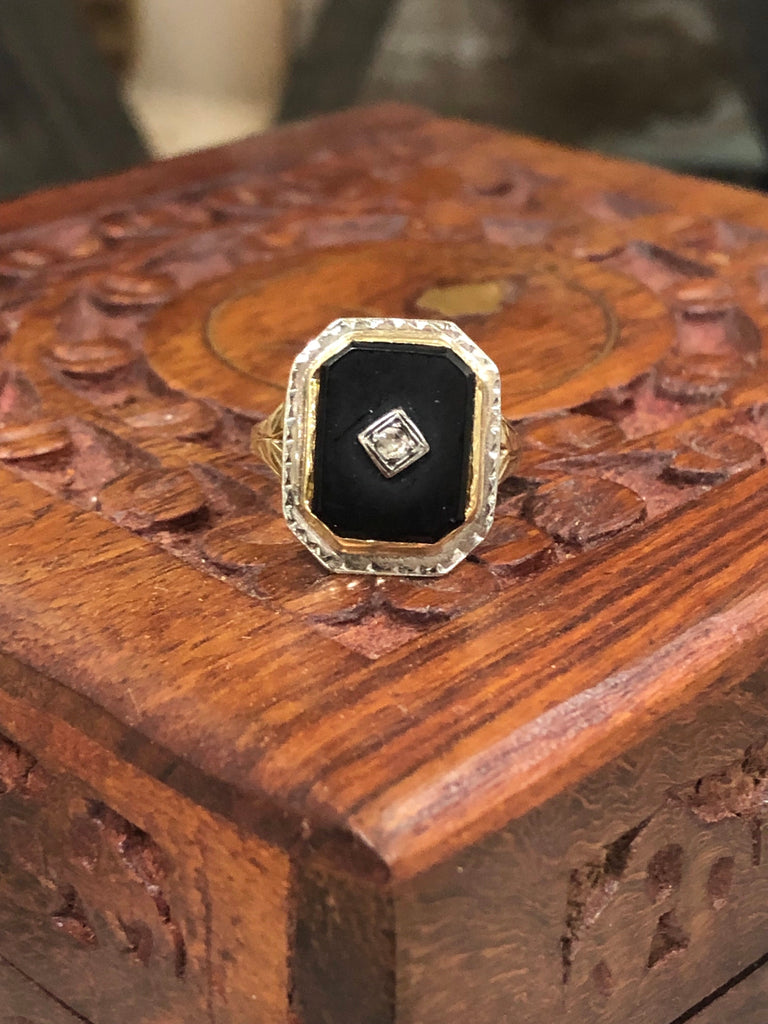 Victorian Mourning Ring #1