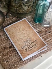 Cover of Intention Journal