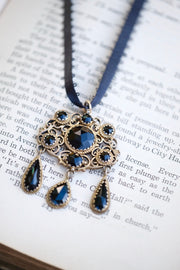 Victorian Era Mourning Necklace