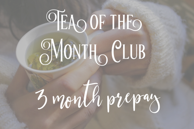 Tea of the Month Club (3 Month Prepay)