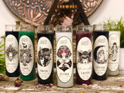 Collection all  seven goddess candles.