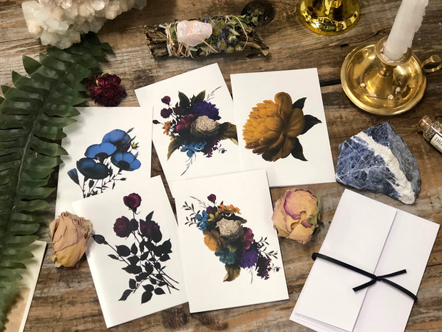 Botanical Note Cards (5 Pack)