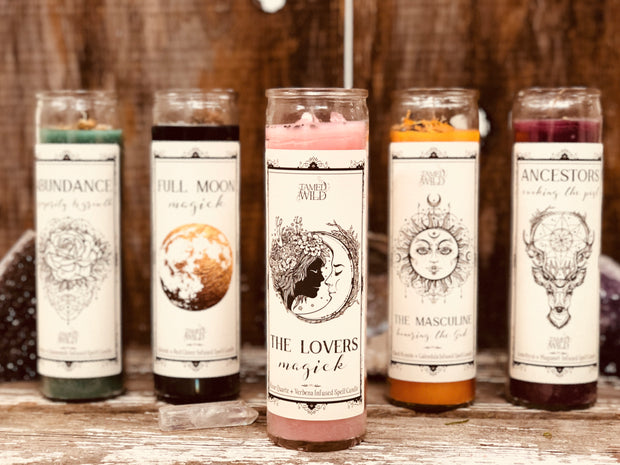 Lovers Spell Candle