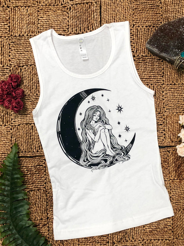 Woman is the Moon //Kids Tank