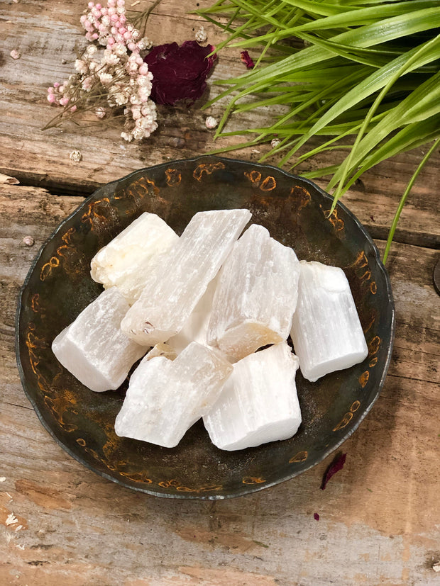 Selenite Rough Stone