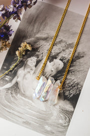 Triple Angel Aura Necklace