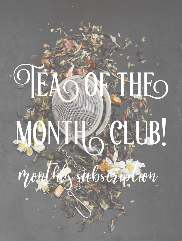 Tea of the Month Club (Monthly Subscription)
