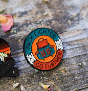 Backpacker Enamel Pin