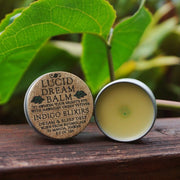 Open tin of Lucid Dreams Balm.