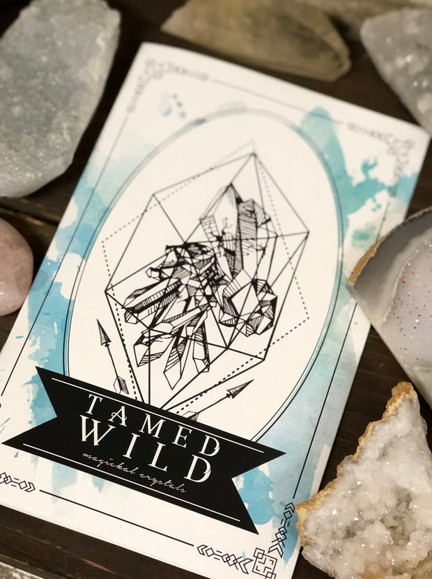 "Cover of ""Wild Crystal Booklet."""