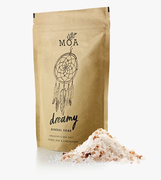 Dreamy Mineral Soak (100g) // Magic Organic Apothecary