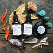 Moon Cycle // PMS & Menstrual Cycle Support by Cattail apothecary
