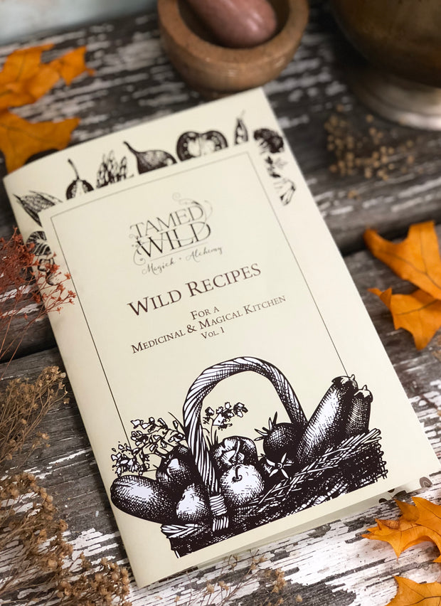 Wild Recipes Booklet