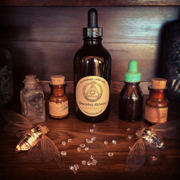 Nourishing Skin Oil + Everyday Alchemy by La Abeja Herbs