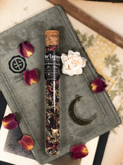 One glass tube of New Moon by Nor'Eastern Herbs.