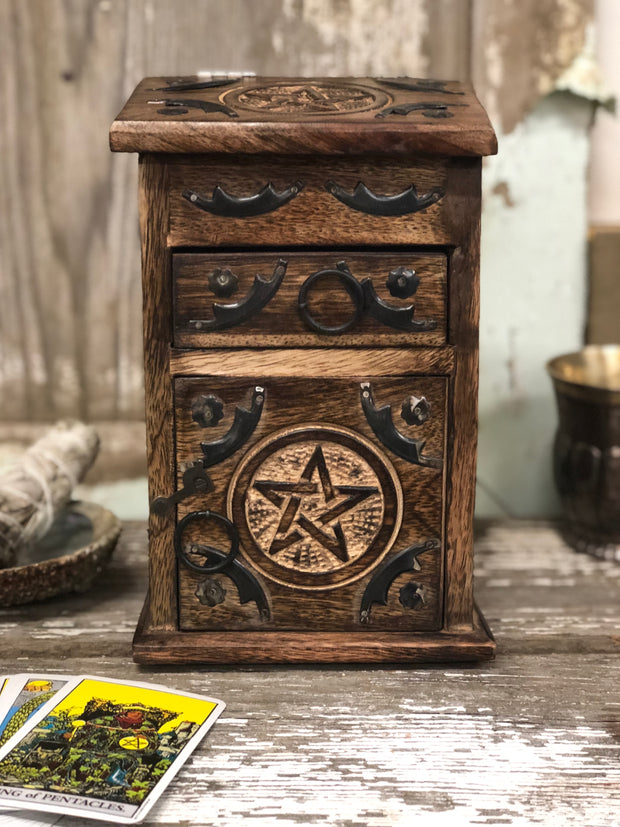 Pentagram Herb Chest