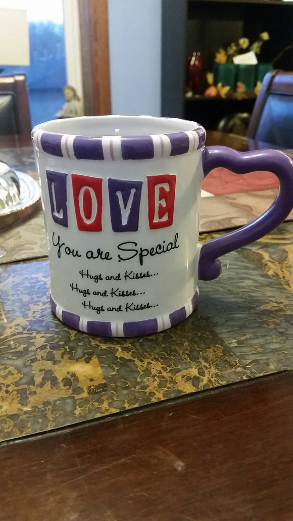 Lavender 16oz You Are Special Mug Candle - Cortez Candle's - 1