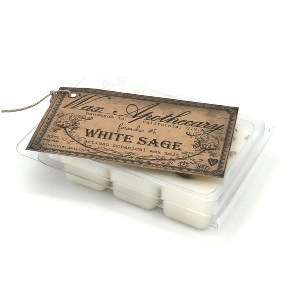 Wax Melt White Sage 6pc