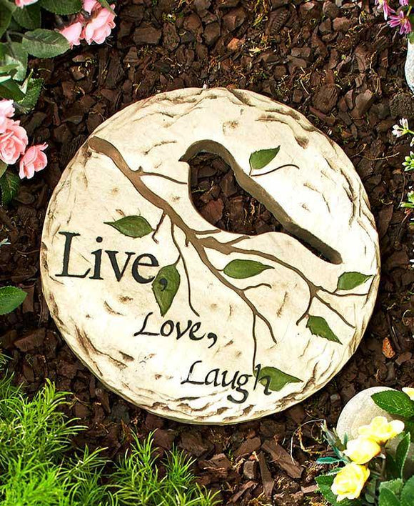 Stepping Stone Live Love Laugh - Cortez Candle's