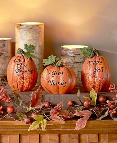 Holiday Haven't Pumpkin Set - Cortez Candle's