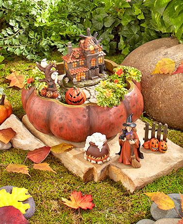 Holiday Mini Halloween Garden Set - My Home and Pet