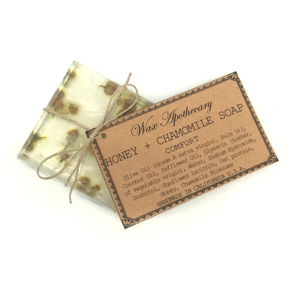 Handmade Botanical Soap - Honey & Chamomile - My Home and Pet