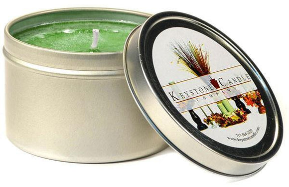 Tin 8oz Jar Bayberry - Cortez Candle's