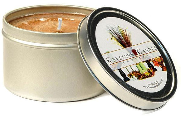 Tin 8oz Jar Cinnamon Stick - Cortez Candle's