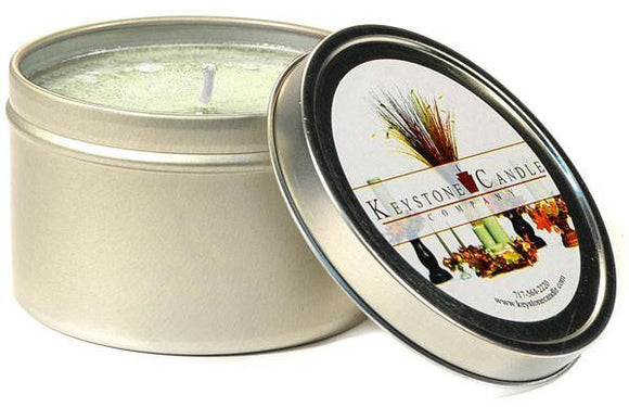 Tin 8oz Jar French Vanilla - Cortez Candle's