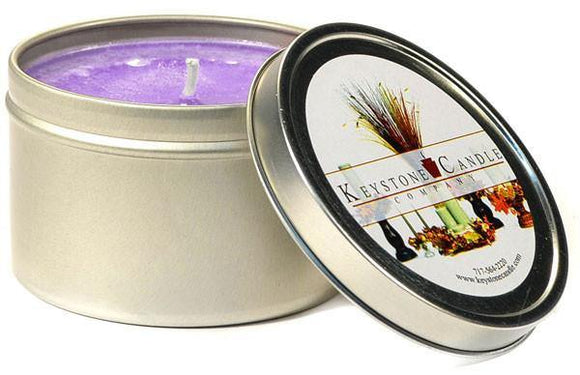 Tin 8oz Jar Lavender - Cortez Candle's