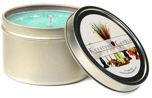 Tin 8oz Jar Cool Citrus Basil - Cortez Candle's