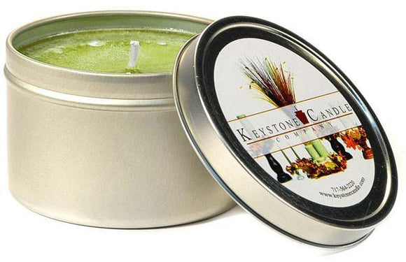 Tin 8oz Jar Sage And Citrus - Cortez Candle's