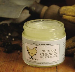 Spring Chicken Muscle Rub - Cortez Candle's
