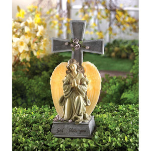 Solar Blessed Cross - Cortez Candle's - 1